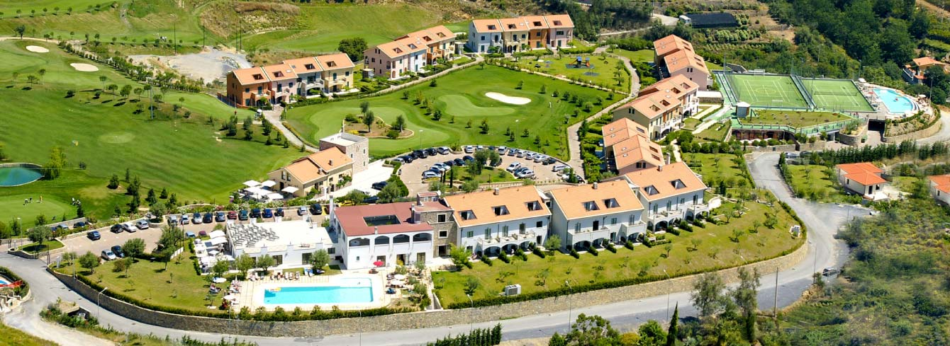 golf resort liguria